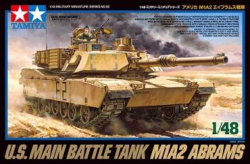 Tamiya-32592-1-48-U.S.-Main-Battle-Tank-M1A2-Abrams